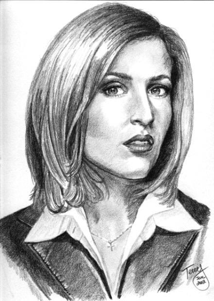 Dana Scully, FBI by TerryXart