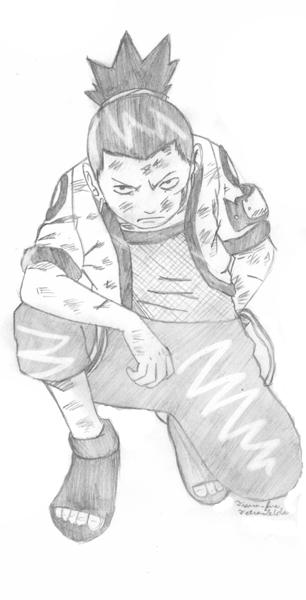 Shikamaru by Tetra_Zelda