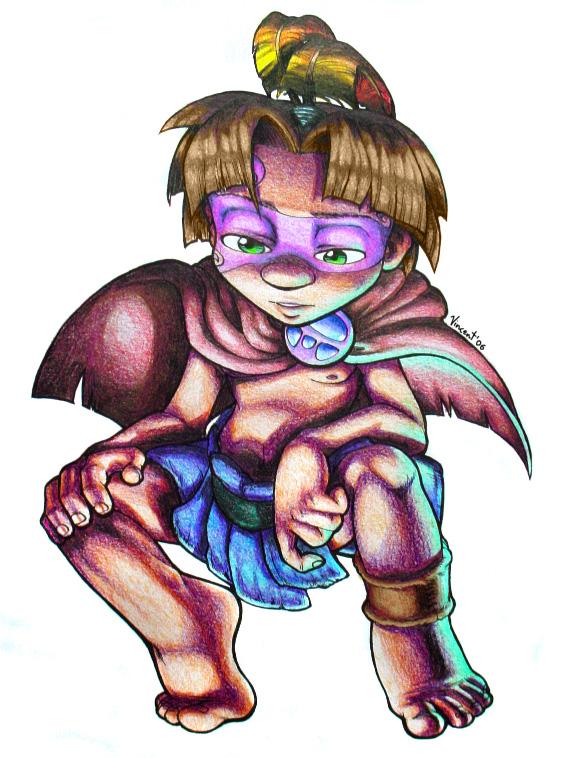 Little Pupanunu Warrior by TheArtDungeon