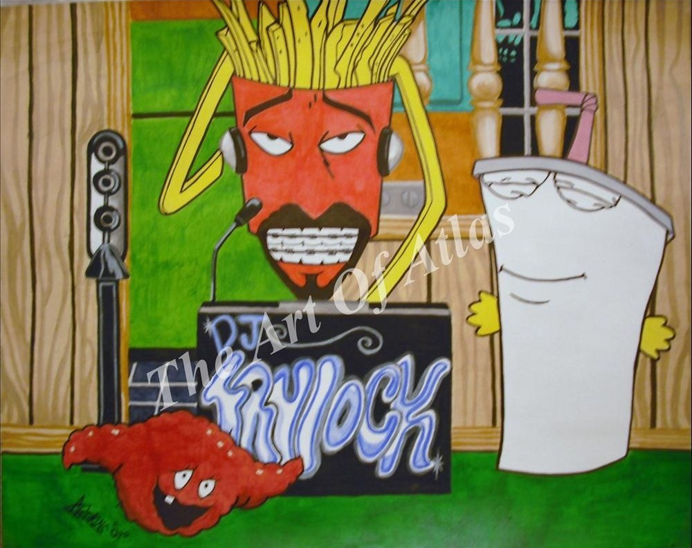 Aqua Teen Hunger Force by TheArtOfAtlas