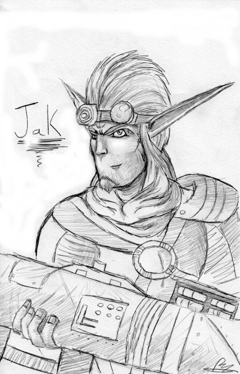 Olda Jak! by TheGameArtCritic