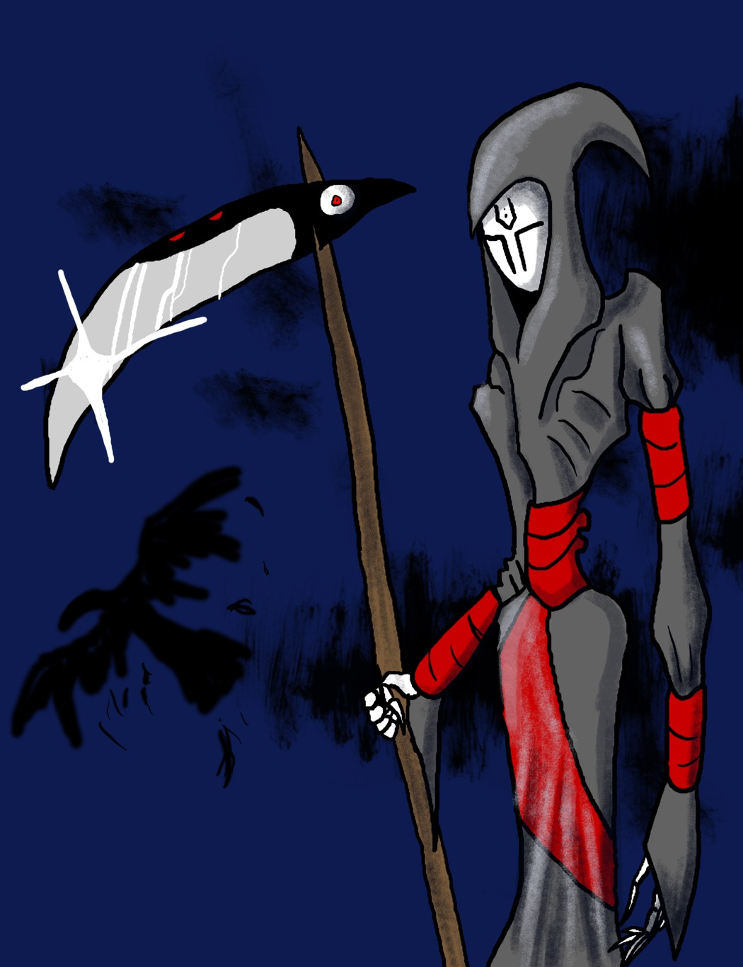 The Grim Reaper by TheGameArtCritic