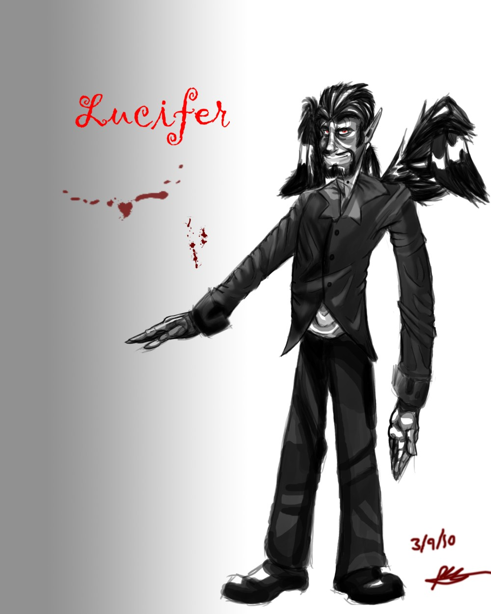 Lucifer Concept by TheGameArtCritic