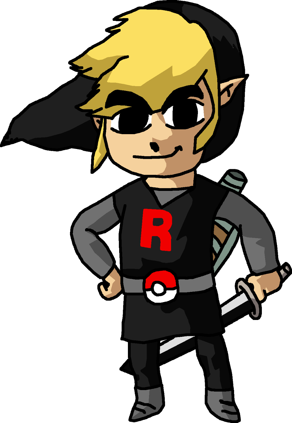 Team Rocket Admin: Link by TheMostEvilThingInAmerica
