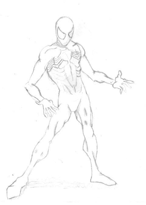 Spider Man by TheWhiteRaven
