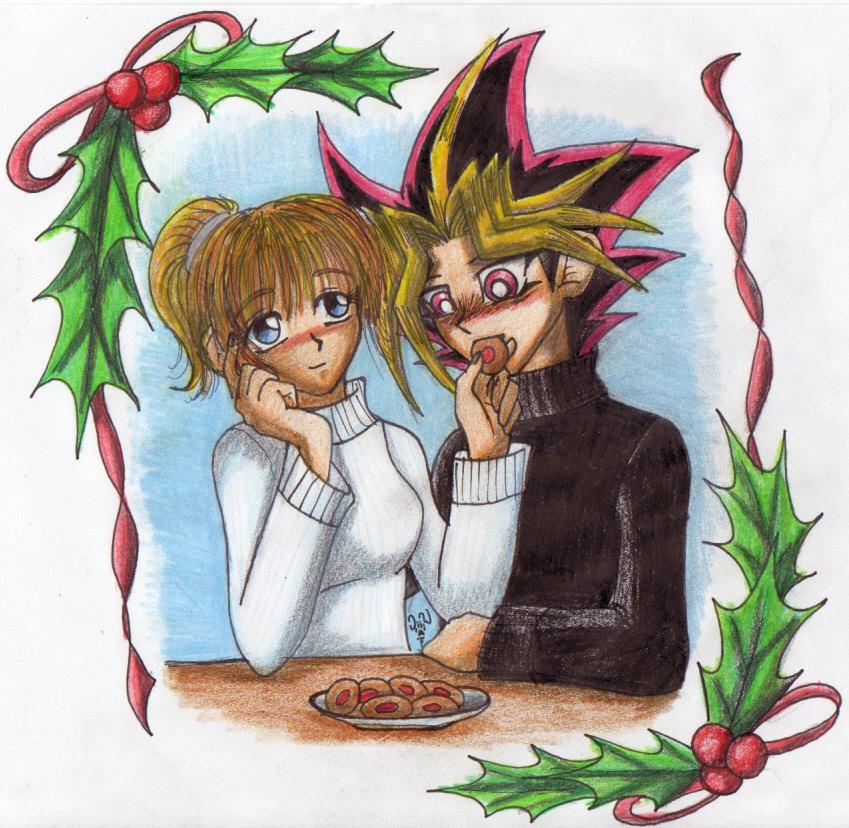 my christmas desktop pic by TheWolfsgirl90