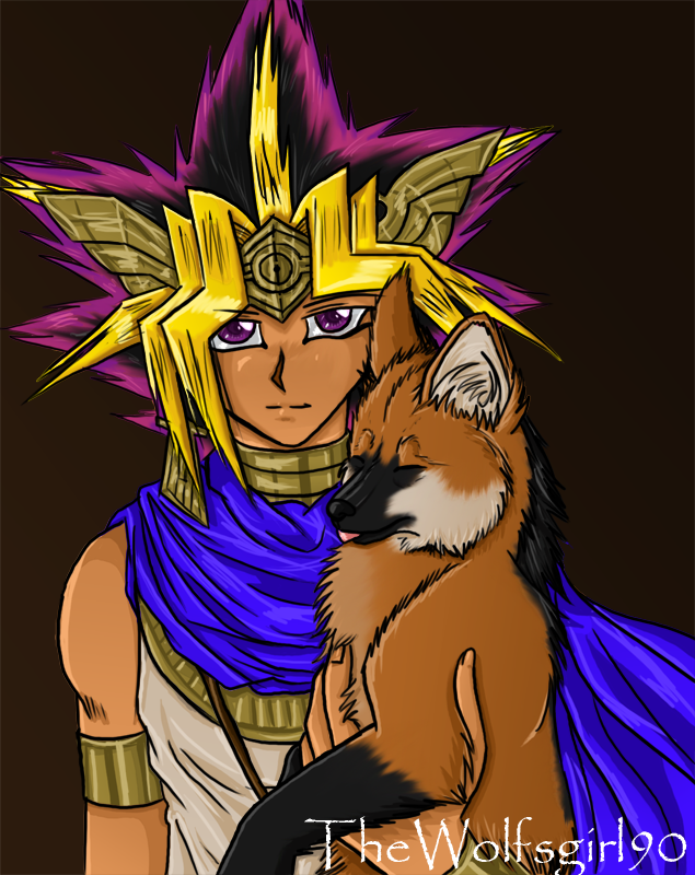 Atemu and Arun by TheWolfsgirl90