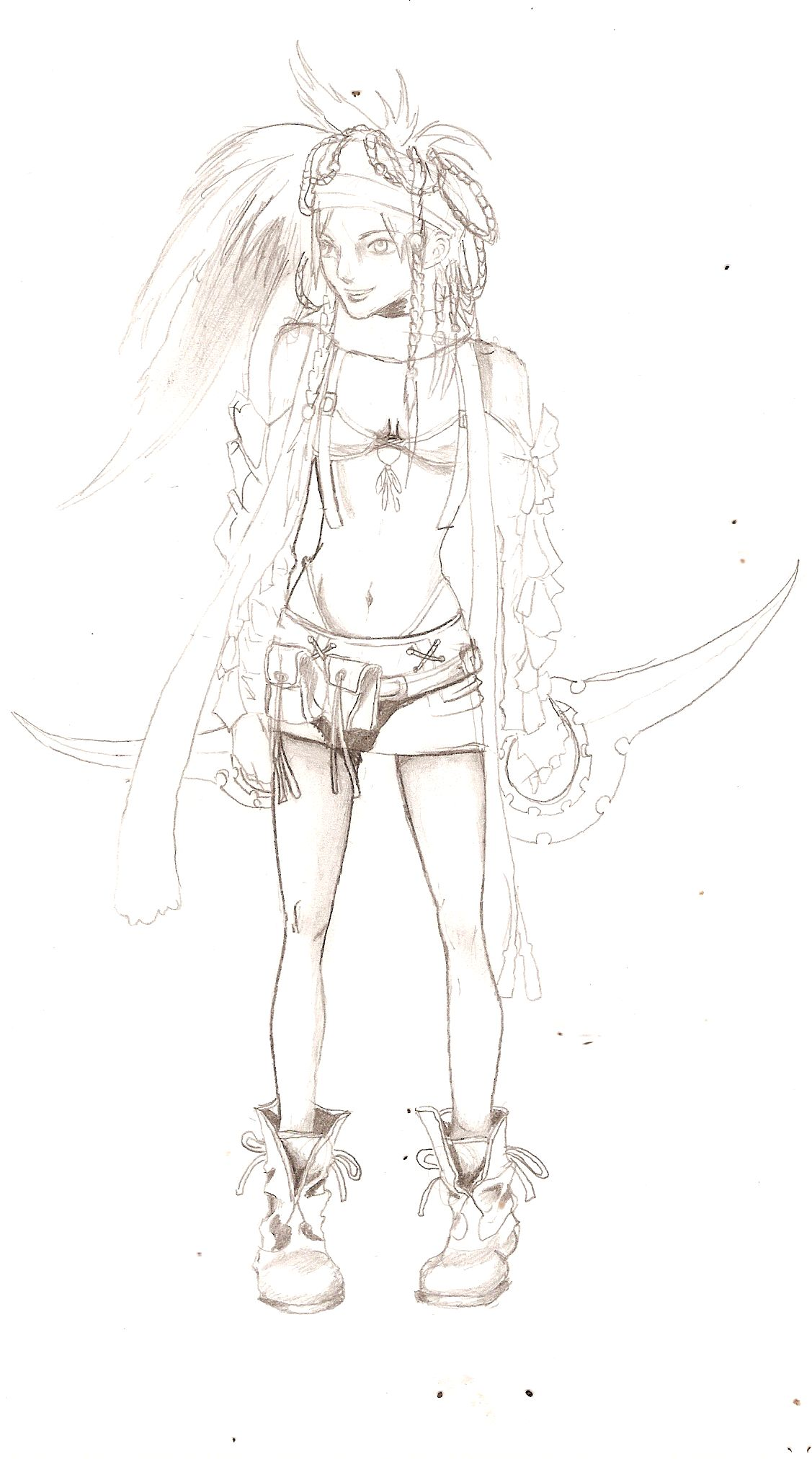 rikku by The_Artist