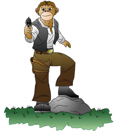 Han Solo Monkey by The_Minx