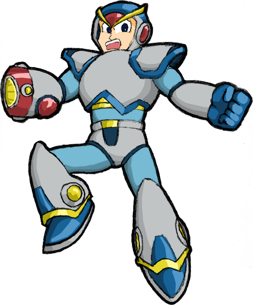 Megaman X by The_Minx