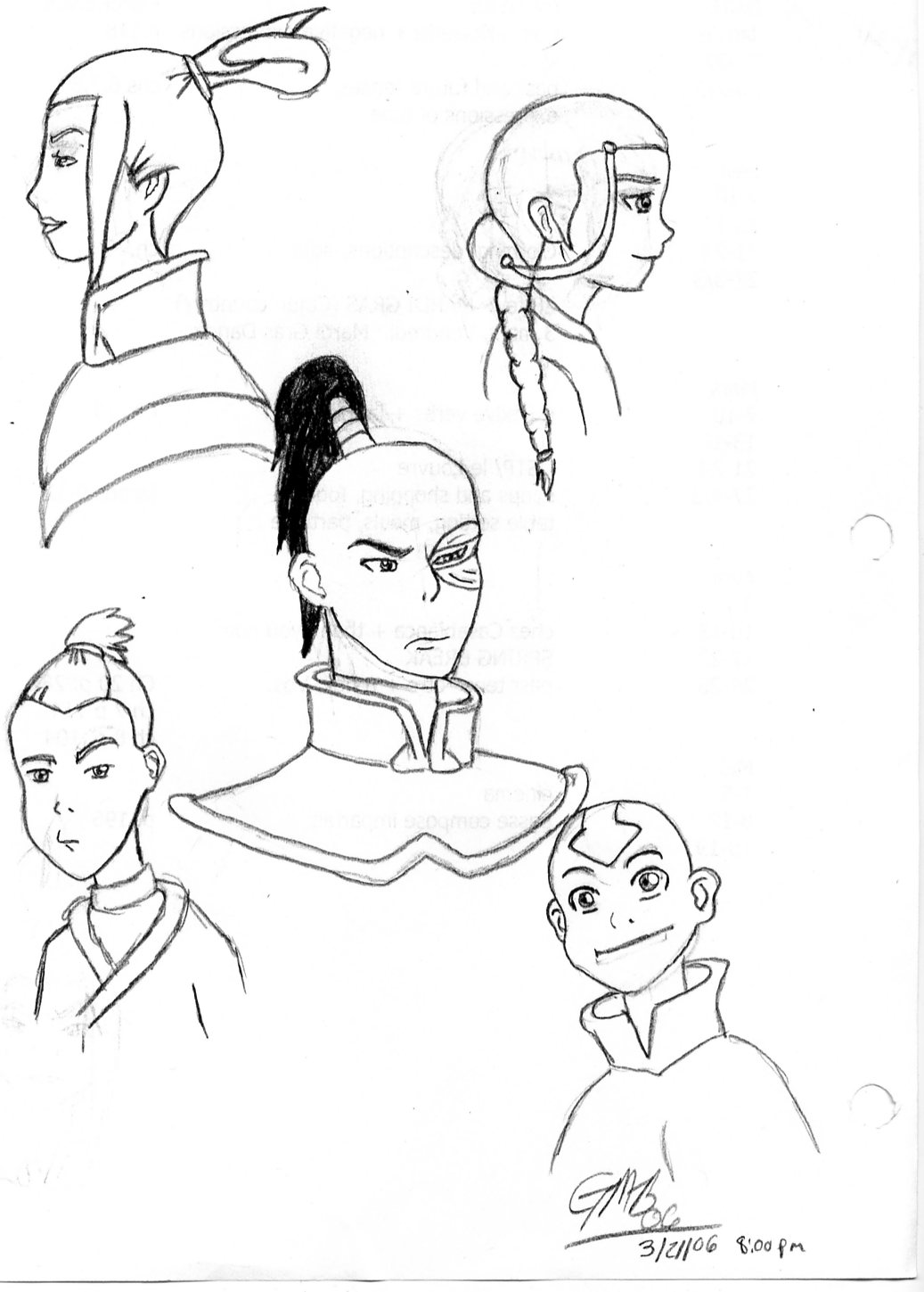 Avatar Cast by The_Unsent_Laugh