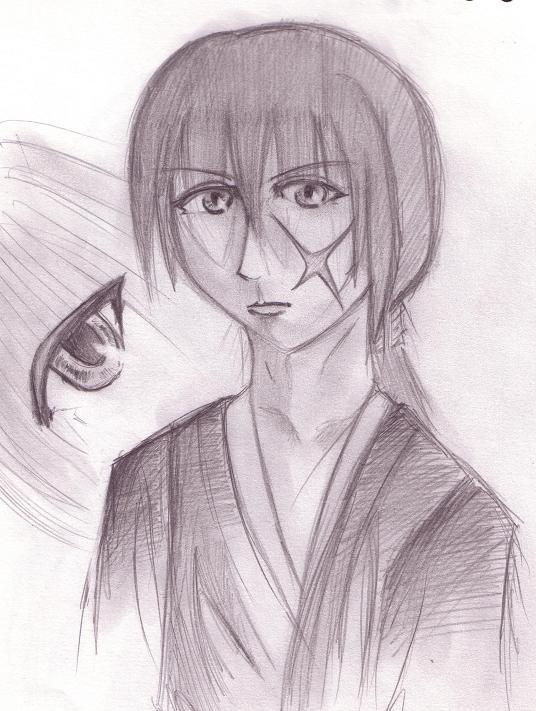 Kenshin Himura- Ova by TheatreFaux