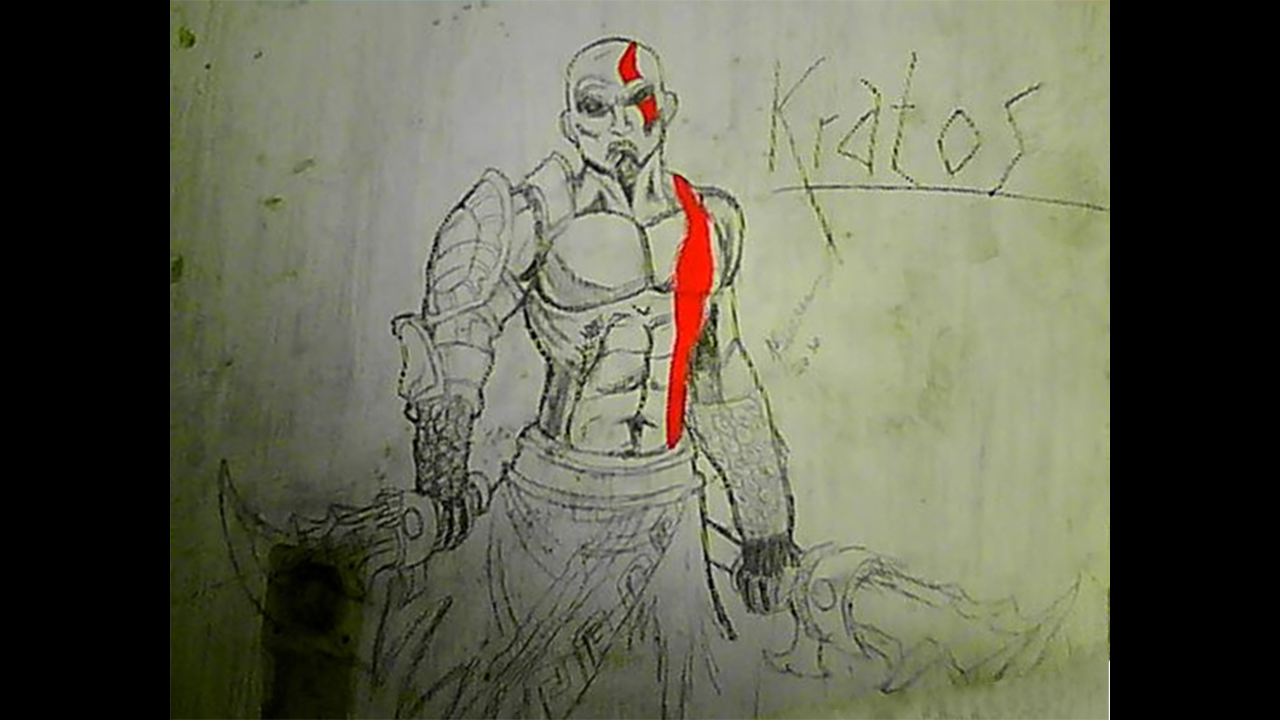 Amazing Kratos by Thefamous1