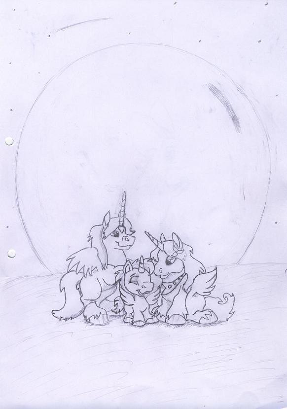 A happy Neopet Family by Tiger_Kitty