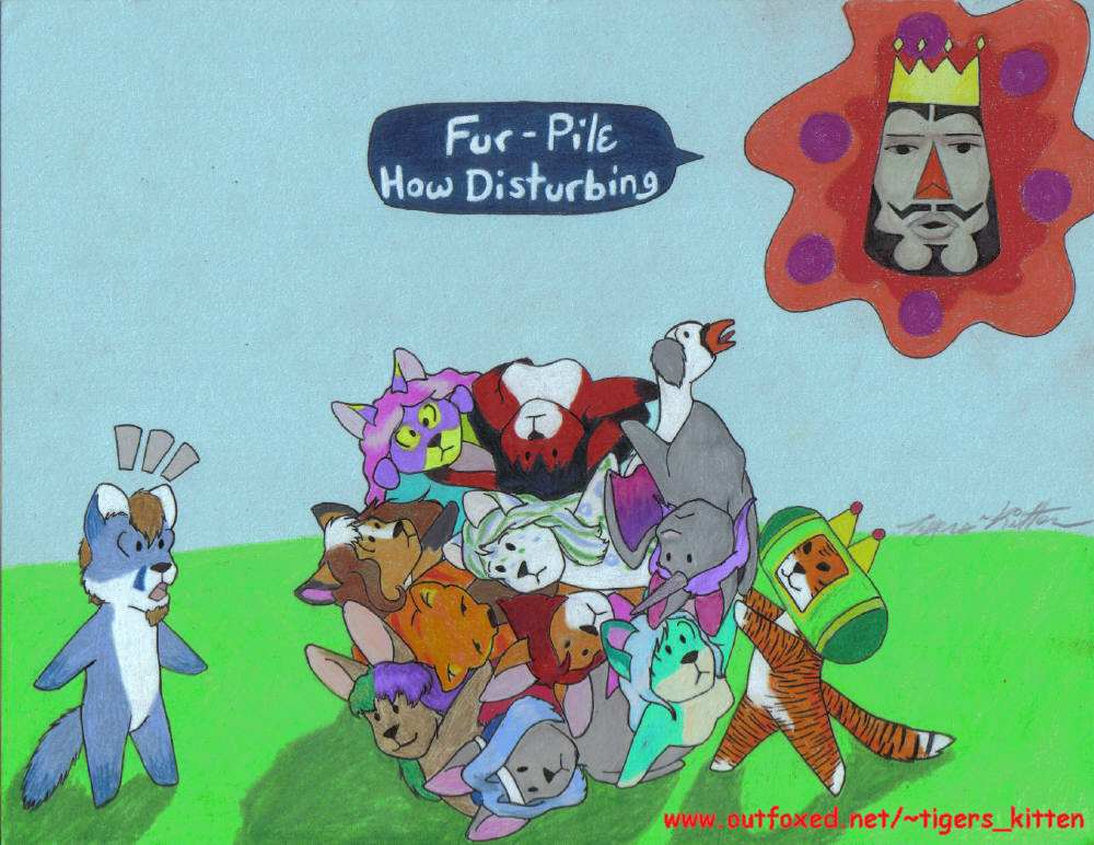 Fur Pile Katamari by Tigers_Kitten