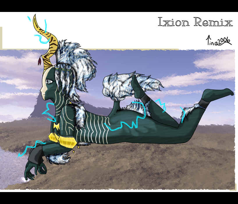 Ixion Redesign (Year:2006) by TinaYoshi