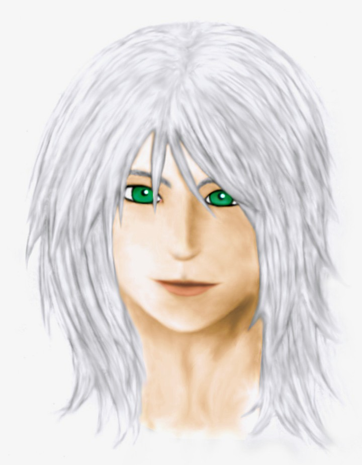 Riku Kh2 coloured version by Tinkster