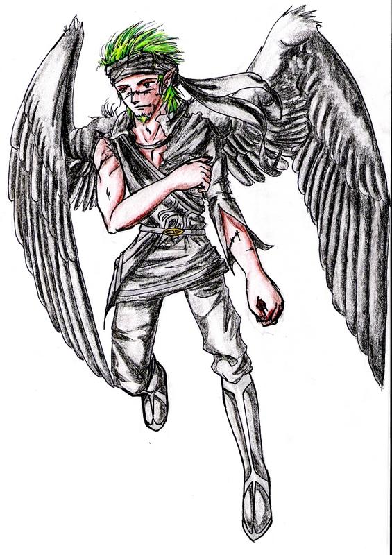 Gerik as a raven by Tirinity