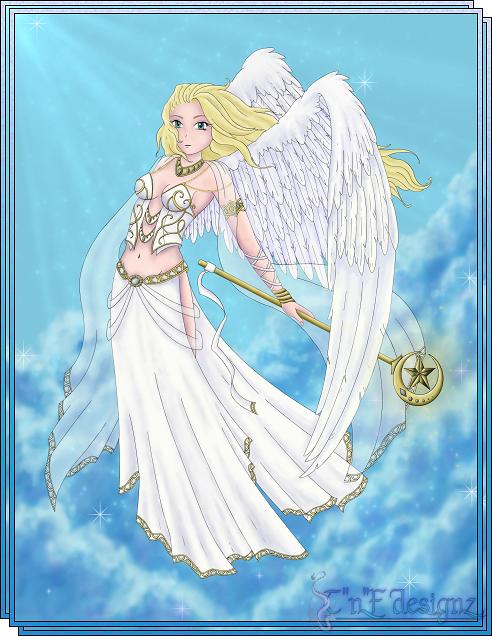 sacred angel by TnFDESIGNER
