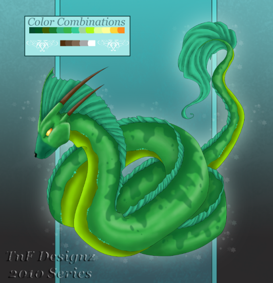Snake Dragon2010 series by TnFDESIGNER