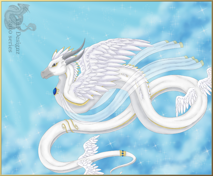 sacred angel dragon 2010 series by TnFDESIGNER