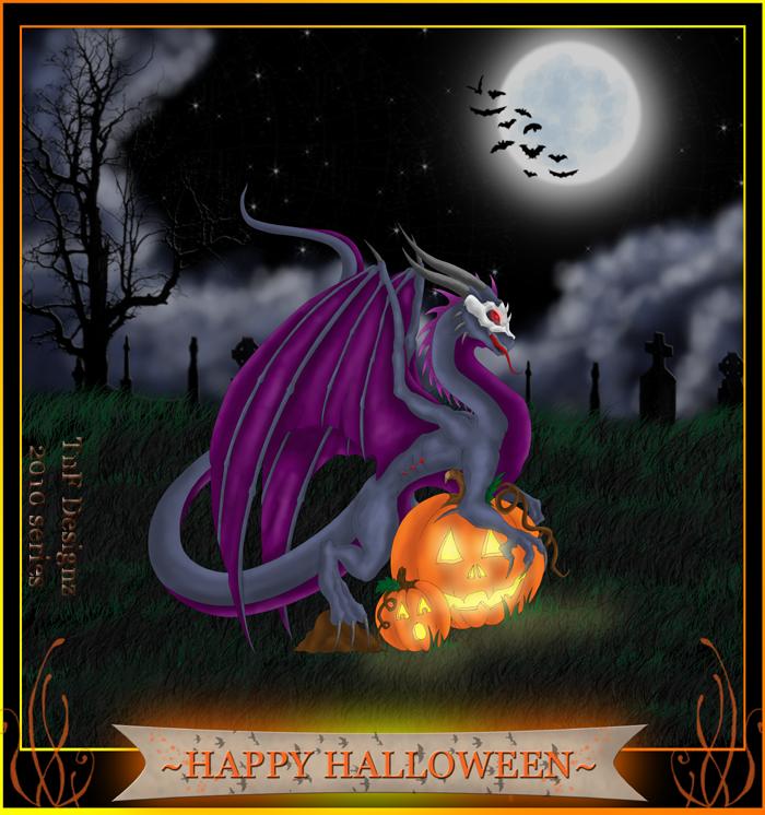 Halloween Dragon 2010 series by TnFDESIGNER