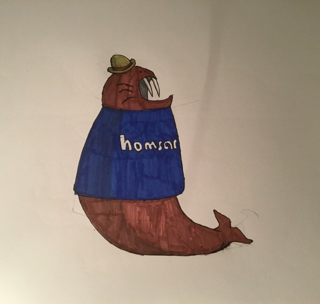 Homsar is the Walrus by TogekissAngel468