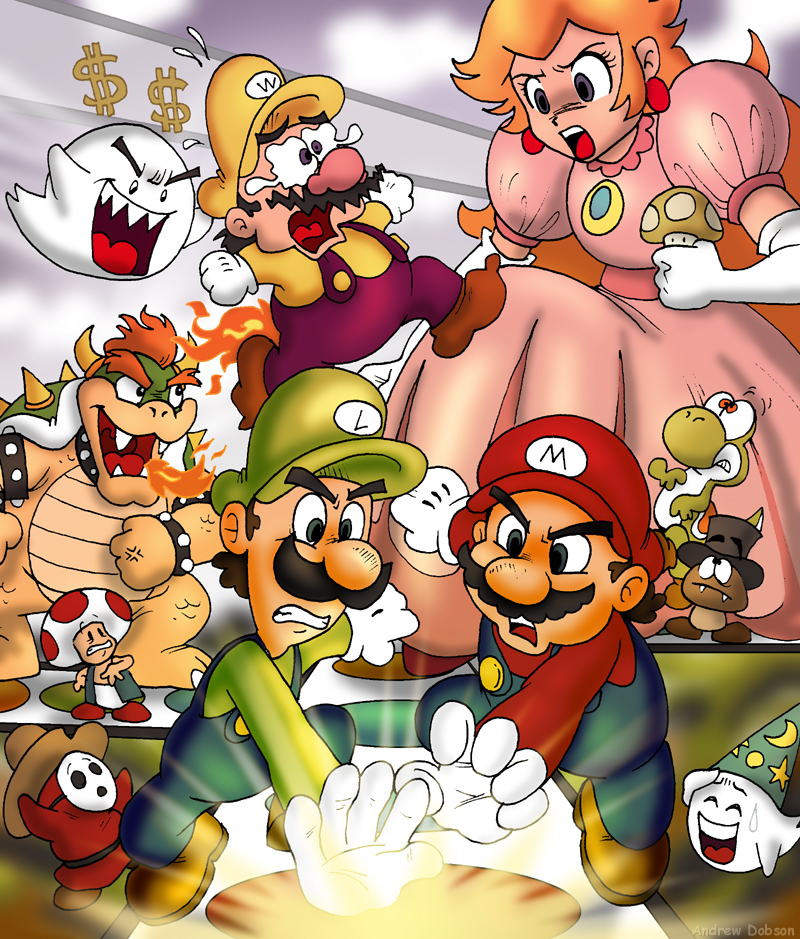 Mario Party by TomPreston