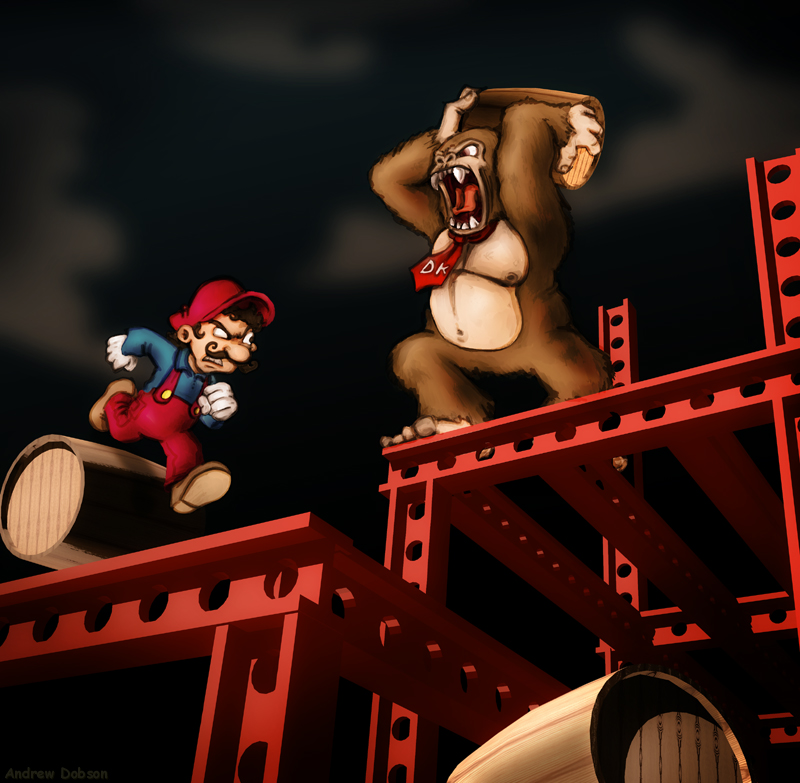 DK Battle by TomPreston
