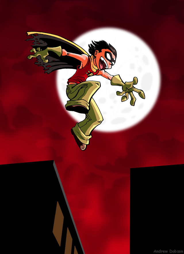 Robin in the Night by TomPreston