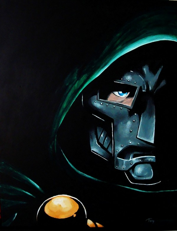 Dr. Doom by Tonfro