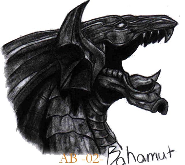 Bahamut-King of all Dragons by Torn
