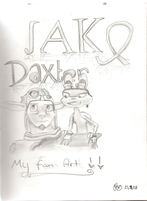 Jak And Daxter by Torn4eva