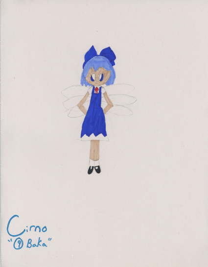 Cirno by TouhouProjectFan22