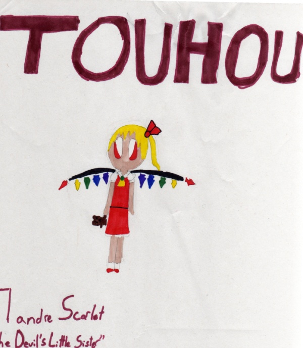 Flandre Scarlet by TouhouProjectFan22