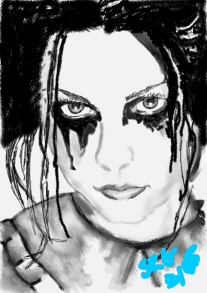 Amy Lee of Evanescence by Tragedywasmile