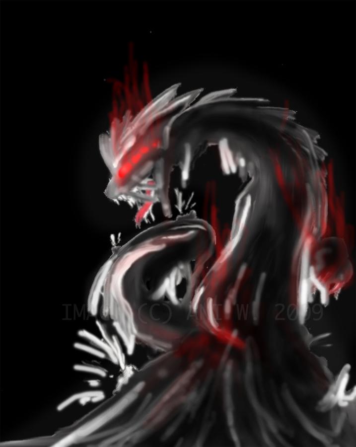 Tar Dragon by Triphazard