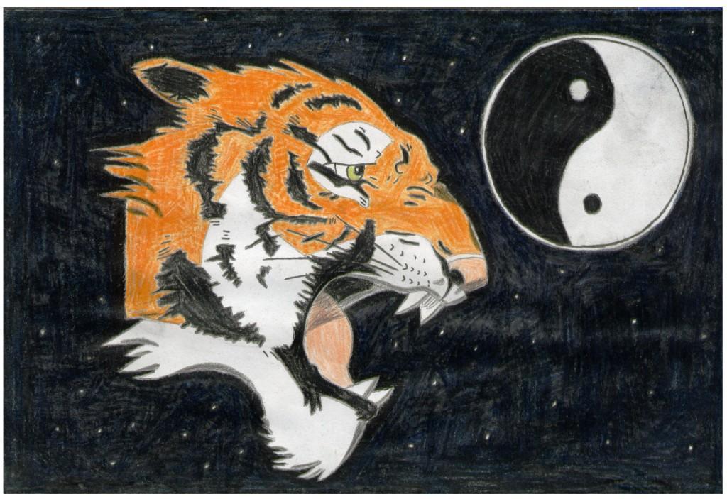 Zodiac Tiger by Triss