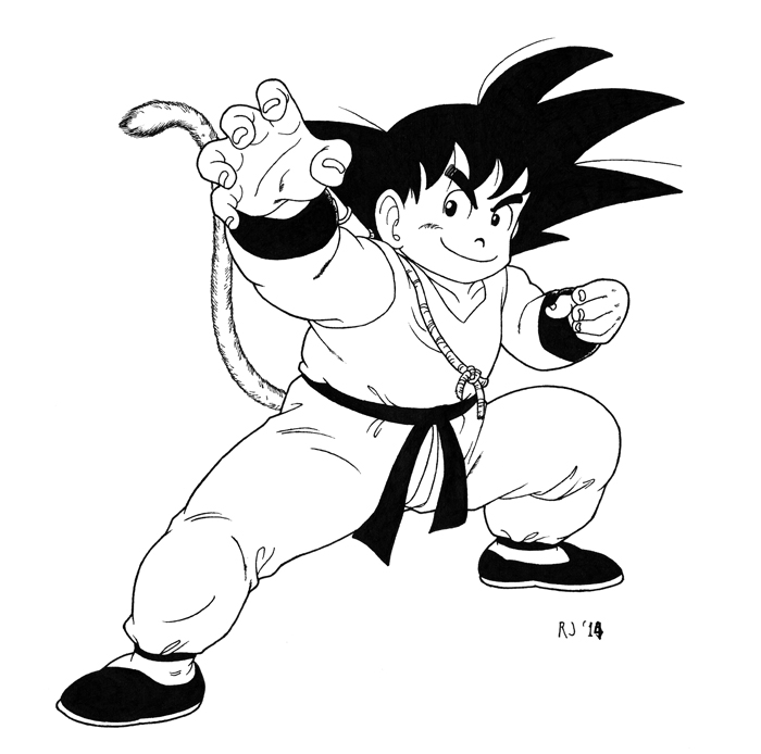 Young Goku by Triss