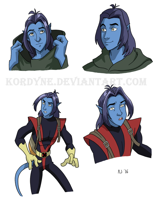 Nightcrawler Sketches by Triss