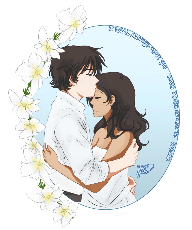 Anniversary: 11.7.10 by TsuNekoChan