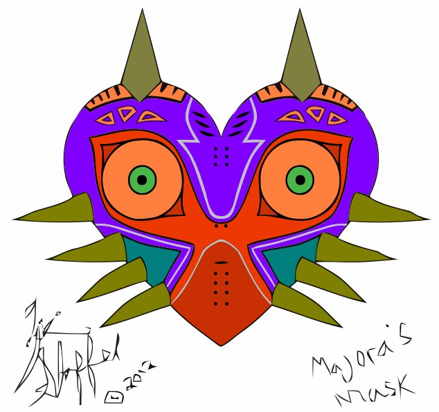 Majora's Mask by Tubbs