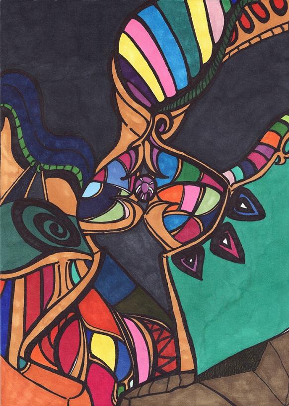 Rainbow Cornucopia by Tuntun422
