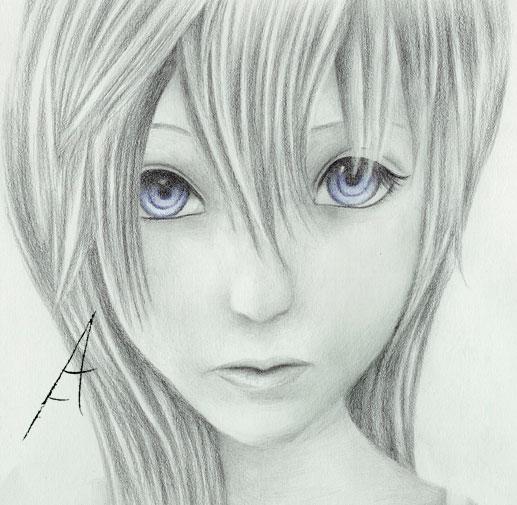 Blue Eyes by TwilightDragon