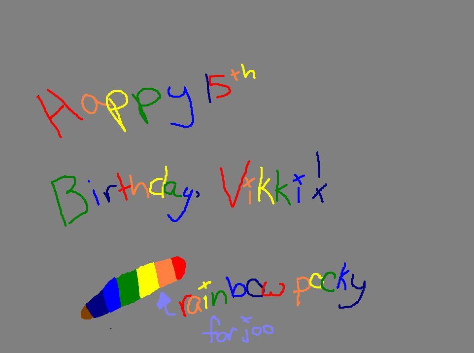Vikki's Present by TwilightPrincessxX