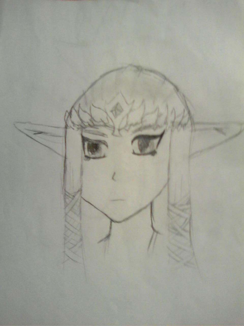 Anime Zelda by TwilightWolf1