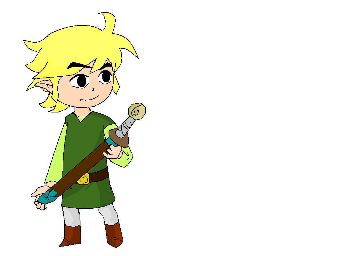 Wind Waker Link by TwilightWolf1
