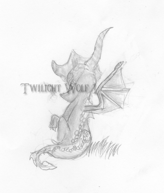 Spyro sketch by TwilightWolf1
