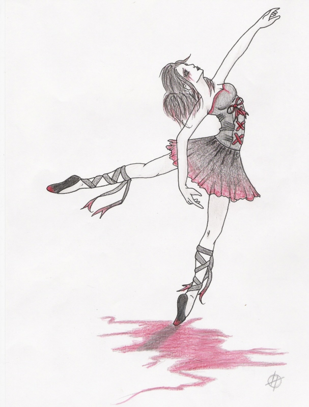 Bloody Ballerina by Twisted-Reality