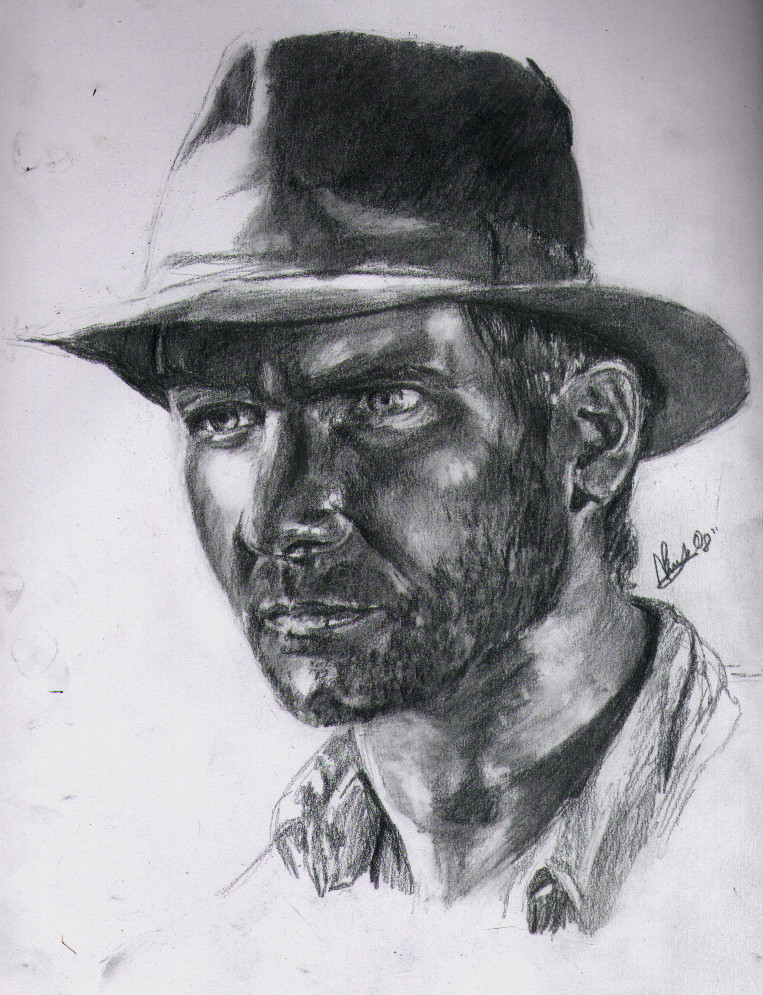 Indiana Jones by TyrannicalTilly